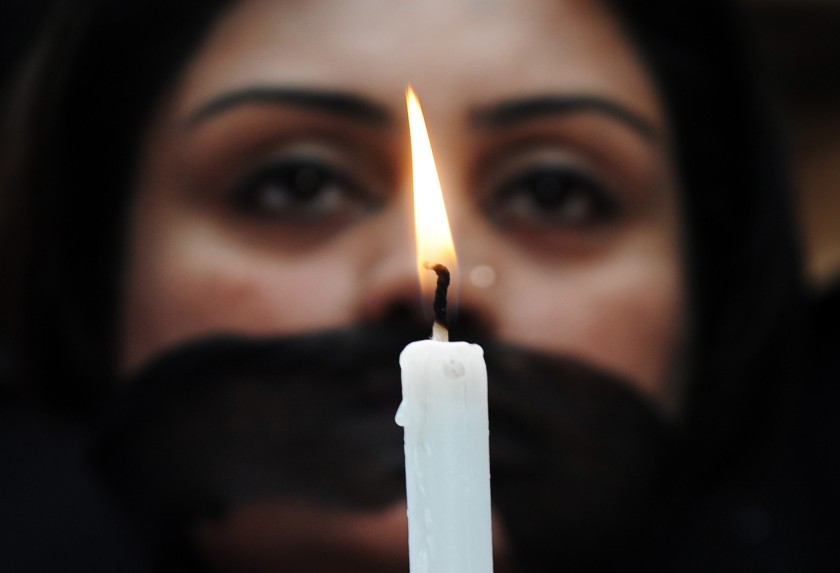 INDIA-POLITICS-RAPE-PROTEST
